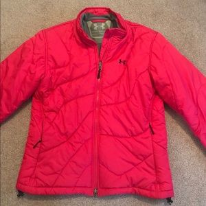 Ladies medium under amour winter jacket worn once